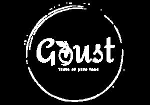Logo Goust white